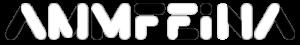 Logo AMMFEINA en blanc i negre.